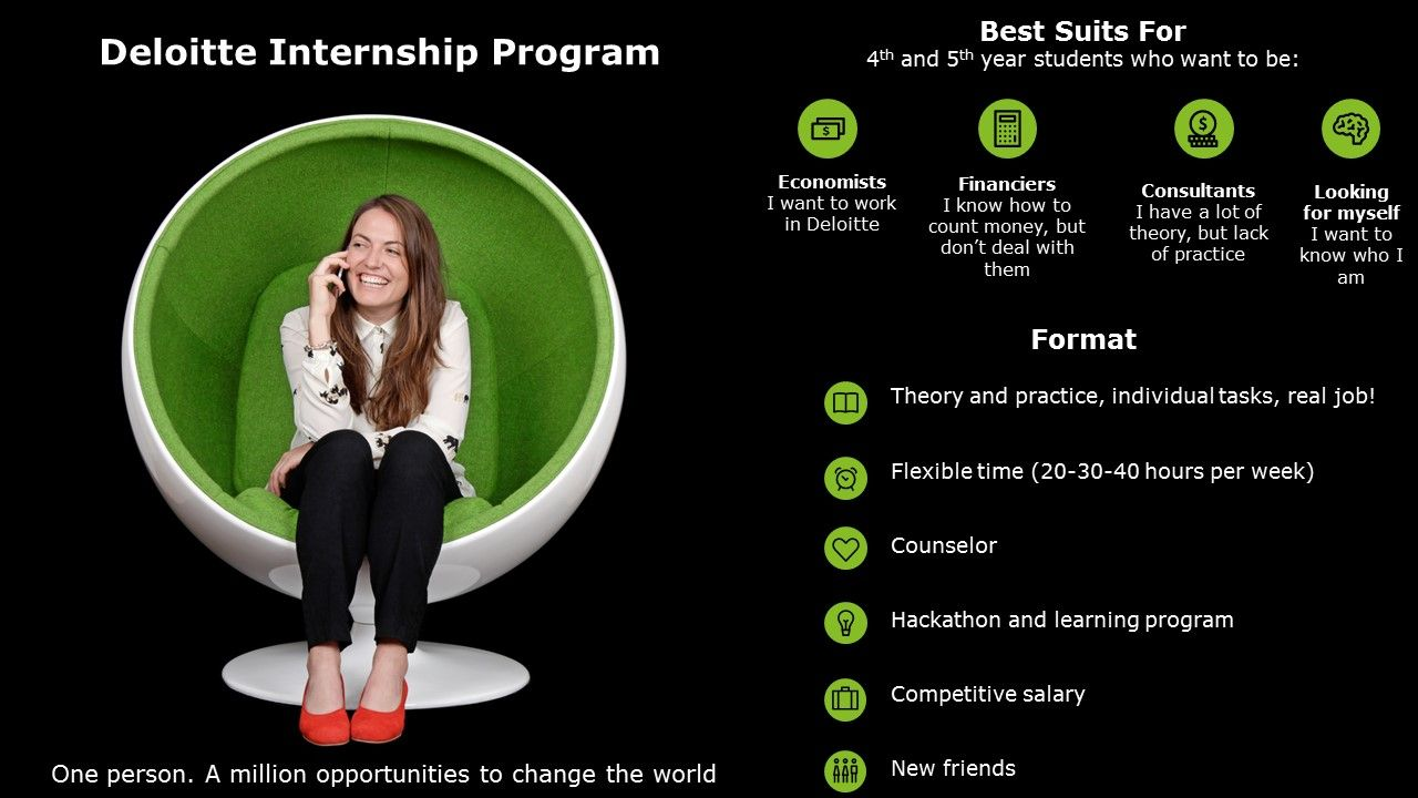 Deloitte Summer Internship Program